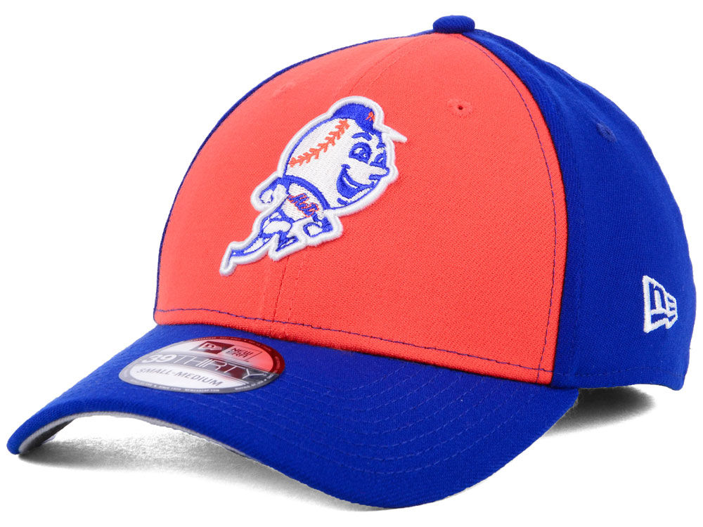 96a12b13baca0 New York Mets New Era MLB Core Classic 39THIRTY Cap