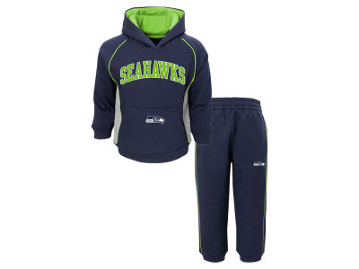 Seattle Seahawks Outerstuff NFL Toddler Lil Fan Pant Set