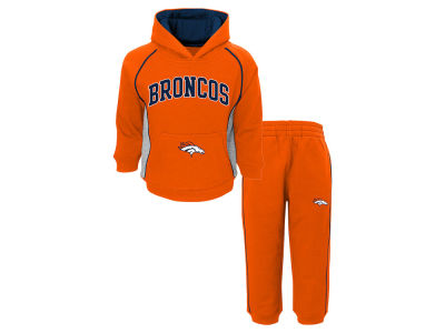 Denver Broncos Outerstuff NFL Toddler Lil Fan Pant Set