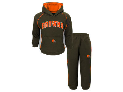 Cleveland Browns Outerstuff NFL Toddler Lil Fan Pant Set