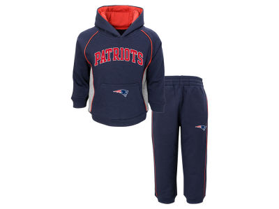 New England Patriots Outerstuff NFL Toddler Lil Fan Pant Set