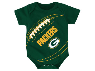 Green Bay Packers Outerstuff NFL Newborn Fanatic Football Creeper