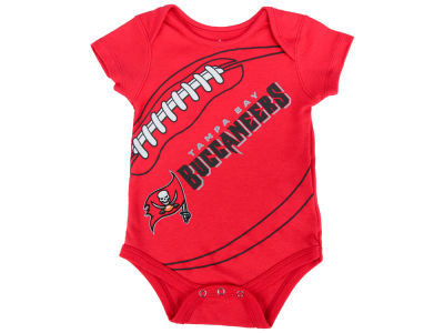 Tampa Bay Buccaneers Outerstuff NFL Newborn Fanatic Football Creeper