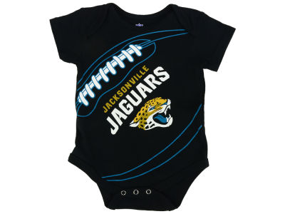 Jacksonville Jaguars Outerstuff NFL Newborn Fanatic Football Creeper