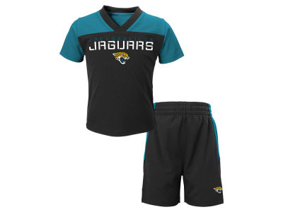 Jacksonville Jaguars Outerstuff NFL Toddler Coil Short Set
