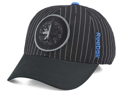 Winnipeg Jets Reebok NHL Pin Stripe Flex Cap