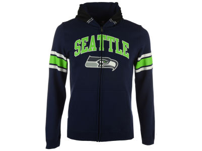 Seattle Seahawks Outerstuff NFL Youth Helmet Full Zip Hoodie