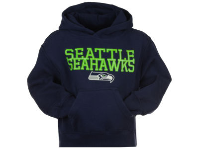 Seattle Seahawks Outerstuff NFL Kids Overlap Hoodie