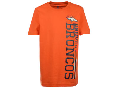 Denver Broncos Outerstuff NFL Youth Terminus Vertical T-Shirt