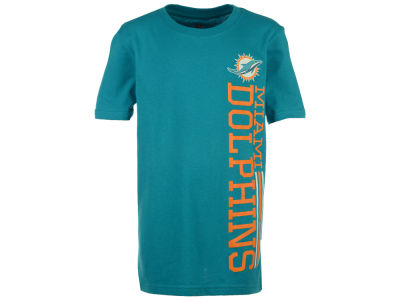 Miami Dolphins Outerstuff NFL Youth Terminus Vertical T-Shirt