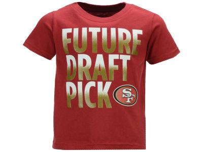 San Francisco 49ers Outerstuff NFL Toddler Future Draft Pick T-Shirt