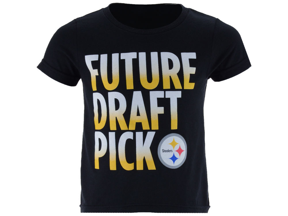 7024a649 Pittsburgh Steelers Outerstuff NFL Toddler Future Draft Pick T-Shirt