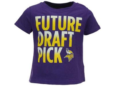 Minnesota Vikings Outerstuff NFL Toddler Future Draft Pick T-Shirt