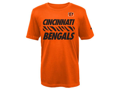 Cincinnati Bengals Nike NFL Youth Team Stripe T-Shirt