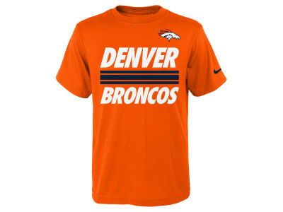 Denver Broncos Nike NFL Youth Team Stripe T-Shirt