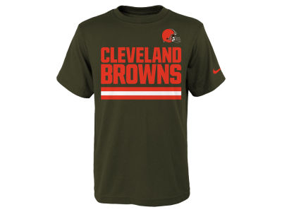 Cleveland Browns Nike NFL Youth Team Stripe T-Shirt