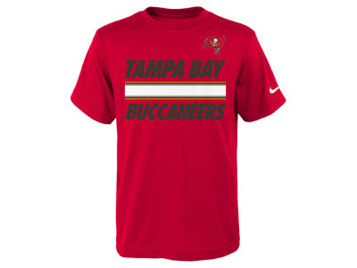 Tampa Bay Buccaneers Nike NFL Youth Team Stripe T-Shirt