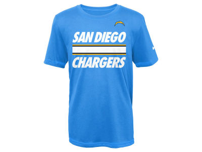 San Diego Chargers Nike NFL Youth Team Stripe T-Shirt
