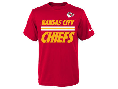 Kansas City Chiefs Nike NFL Youth Team Stripe T-Shirt