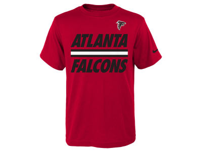 Atlanta Falcons Nike NFL Youth Team Stripe T-Shirt