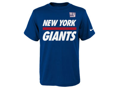New York Giants Nike NFL Youth Team Stripe T-Shirt