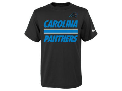 Carolina Panthers Nike NFL Youth Team Stripe T-Shirt