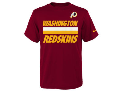 Washington Redskins Nike NFL Youth Team Stripe T-Shirt