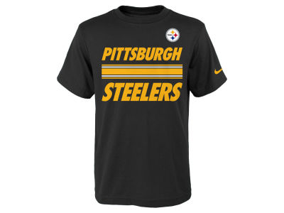 Pittsburgh Steelers Nike NFL Youth Team Stripe T-Shirt
