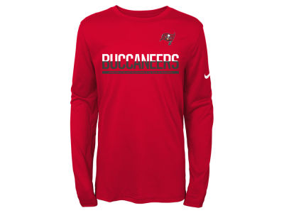 Tampa Bay Buccaneers Nike NFL Youth Team Practice Long Sleeve T-Shirt