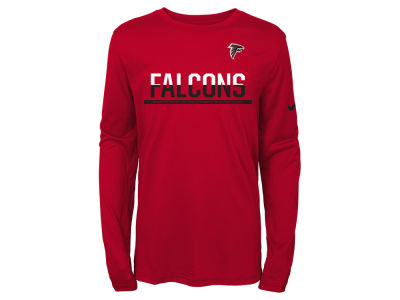 Atlanta Falcons Nike NFL Youth Team Practice Long Sleeve T-Shirt