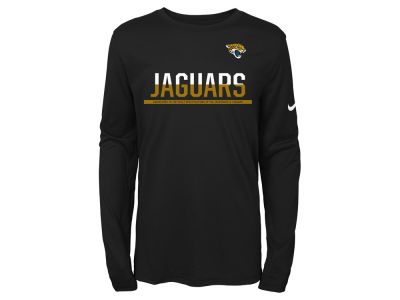 Jacksonville Jaguars Nike NFL Youth Team Practice Long Sleeve T-Shirt