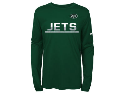New York Jets Nike NFL Youth Team Practice Long Sleeve T-Shirt