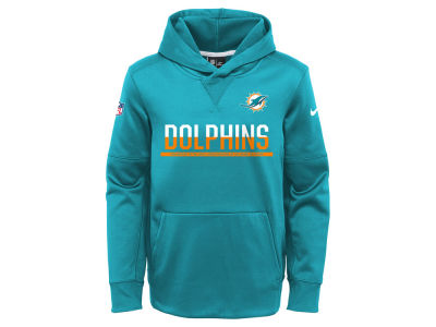 Miami Dolphins Nike NFL Youth Circuit Pullover Hoodie