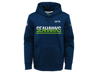Seattle Seahawks Nike NFL Youth Circuit Pullover Hoodie