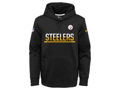 Pittsburgh Steelers Nike NFL Youth Circuit Pullover Hoodie
