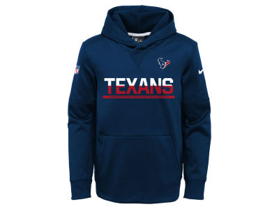 Houston Texans Nike NFL Youth Circuit Pullover Hoodie