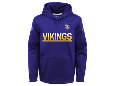Minnesota Vikings Nike NFL Youth Circuit Pullover Hoodie