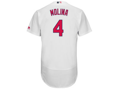 St. Louis Cardinals Yadier Molina Majestic MLB Men's Flexbase On-Field Player Jersey