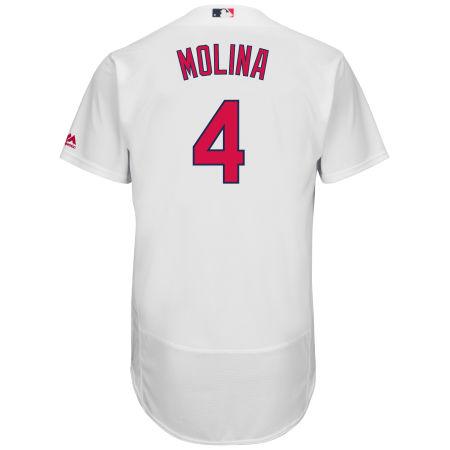 St. Louis Cardinals Yadier Molina MLB Men's Flexbase On-Field Player Jersey