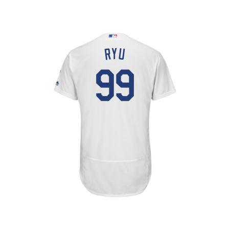 Los Angeles Dodgers Hyun-jin Ryu MLB Men's Flexbase On-Field Player Jersey