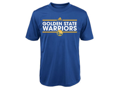 Golden State Warriors adidas NBA Youth Dassler Performance T-Shirt