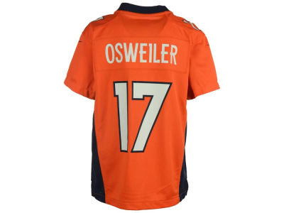 Denver Broncos Brock Osweiler Nike NFL Youth Game Jersey