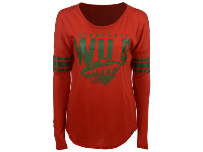 Minnesota Wild '47 NHL Women's Courtside Long Sleeve T-Shirt