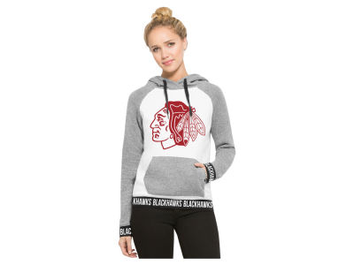 Chicago Blackhawks '47 NHL Women's Revolve Hooded Sweatshirt