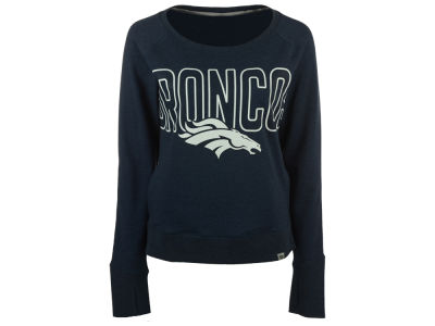 Denver Broncos '47 NFL Women's React Crew Sweatshirt
