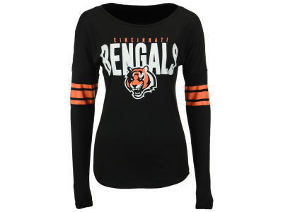 Cincinnati Bengals '47 NFL Women's Courtside Long Sleeve T-Shirt