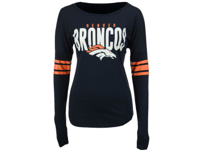 Denver Broncos '47 NFL Women's Courtside Long Sleeve T-Shirt
