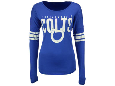 Indianapolis Colts '47 NFL Women's Courtside Long Sleeve T-Shirt