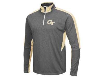 Georgia-Tech Colosseum NCAA Men's Atlas Quarter Zip Pullover