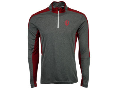 Indiana Hoosiers Colosseum NCAA Men's Atlas Quarter Zip Pullover